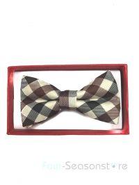 Vintage Brown toddler bow tie and suspenders set - baby ...