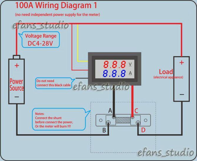 voltage and amp meter wiring diagram  pietrodavicoit solid