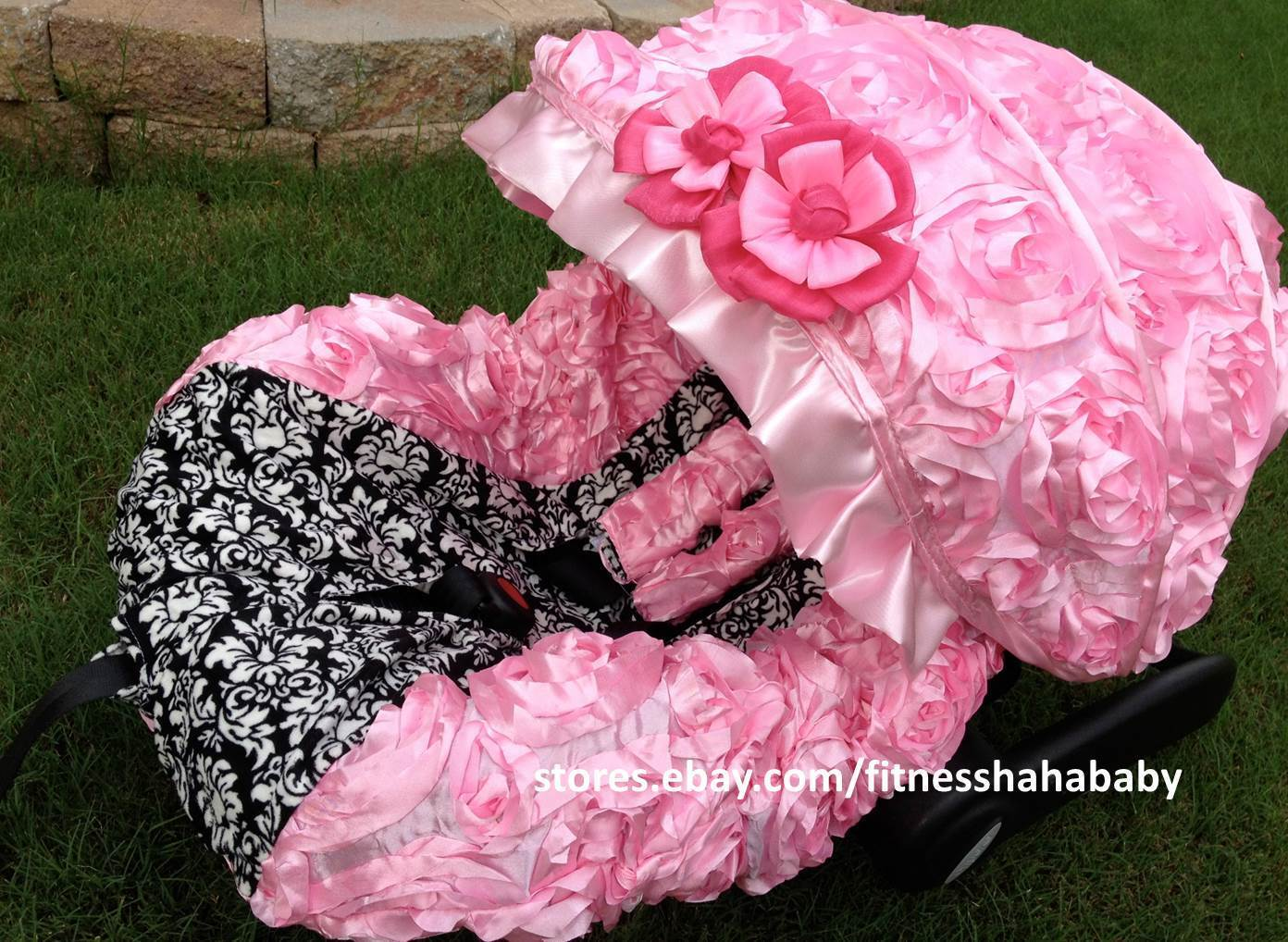 chair covers for baby white windsor infant car seat cover canopy set fit most