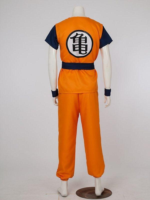 Dragon Ball Son Goku Turtle Senru Costume Outfits
