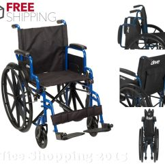 Wheelchair Ebay Tulip Chair Cushion Drive Medical Folding Portable Lightweight