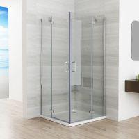 Duschkabine Eckeinstieg Duschwand Duschabtrennung NANO ...