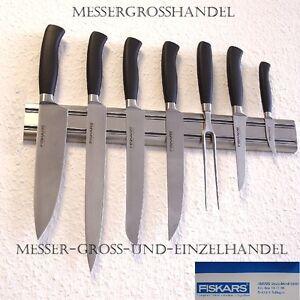 FISKARS Solingen Messer 8tlg. inkl Magnetleiste Kochmesser
