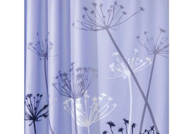 Purple Gray Shower Curtains Purple Gray Fabric Shower