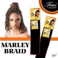 Femi Collection Marley Braid Kanekalon Kinky Braiding Hair ...