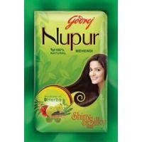 Godrej Nupur Mehndi Henna Heena Hair Color Amla 100