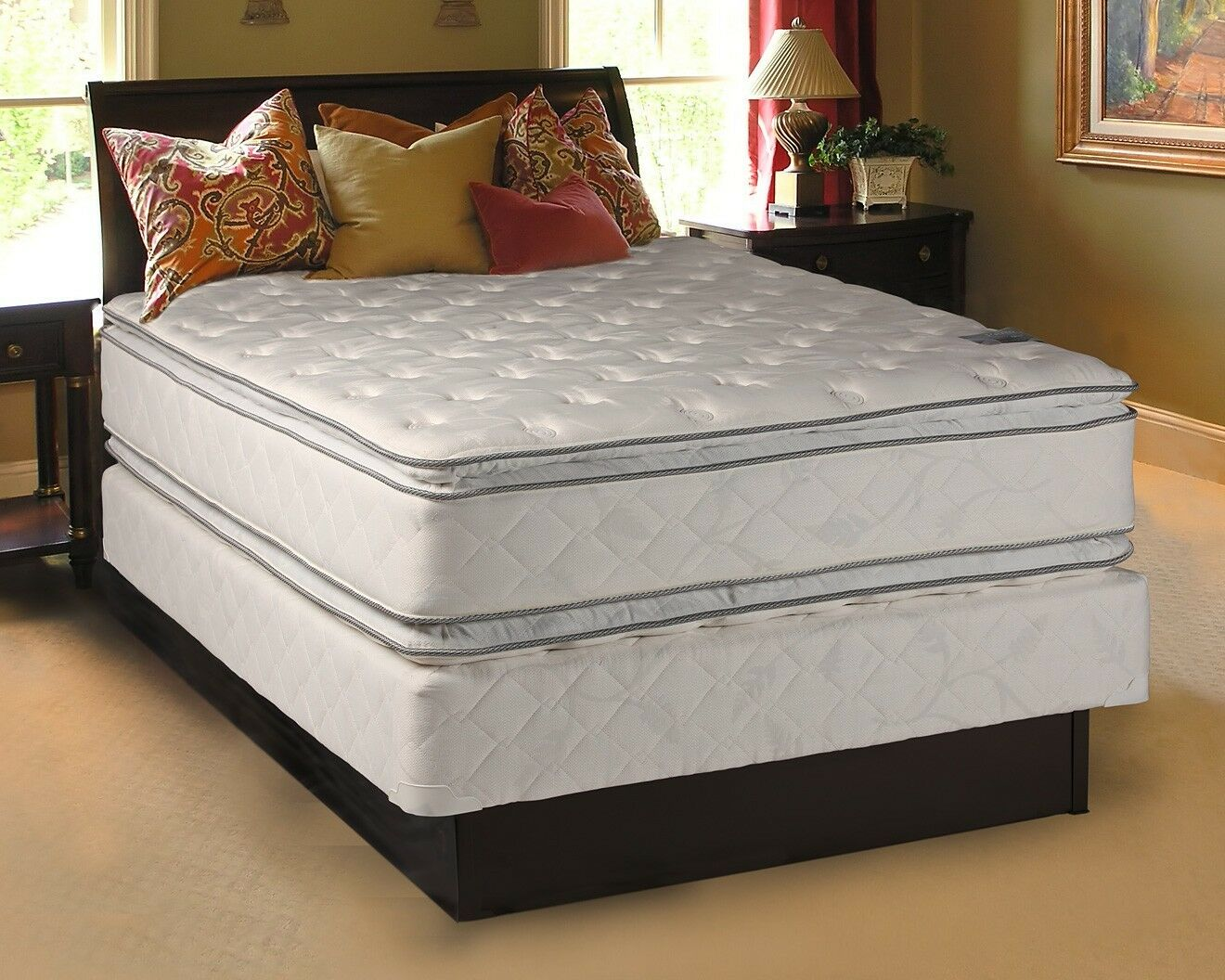 Queen Mattress And Boxspring Set