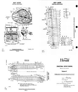 Handley Page Dart Herald Aircraft Structural Repair Manual