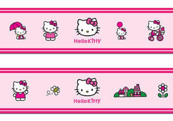 Hello Kitty Wall Border