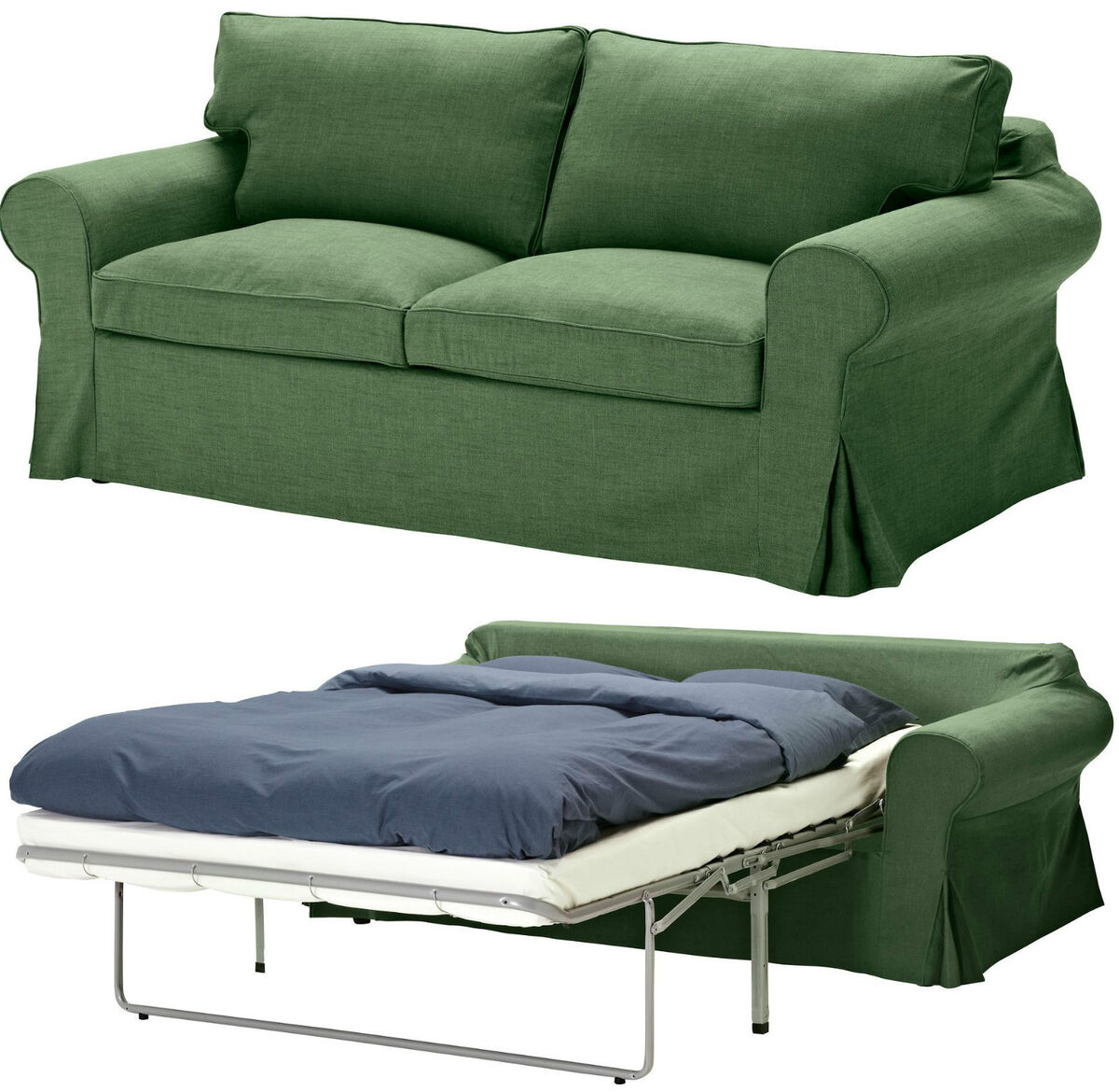 two seater sofa bed cover refurbish cushions ikea ektorp sleeper slipcover 2 seat sofabed
