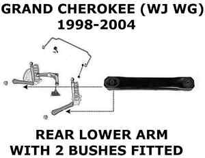 JEEP GRAND CHEROKEE WJ WG REAR LOWER SUSPENSION ARM BUSH