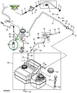 John Deere 625i and 825i XUV Gator Electronic Fuel Pump