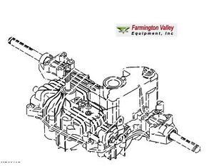 John Deere LT155 LT166 Transmission Complete AM880203 New