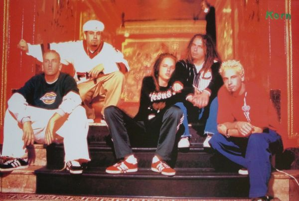 "Korn ""band Sitting Steps"" Poster Asia Nu"
