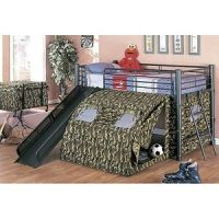 Military Aircraft: Bunk Beds Camo Camouflage Army Twin ...