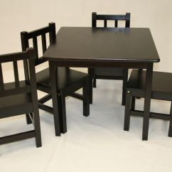 Children S Table And Chairs Wooden Macys Furniture Sofa Kitchen Childrens
