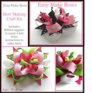 learn make ribbon hair bows