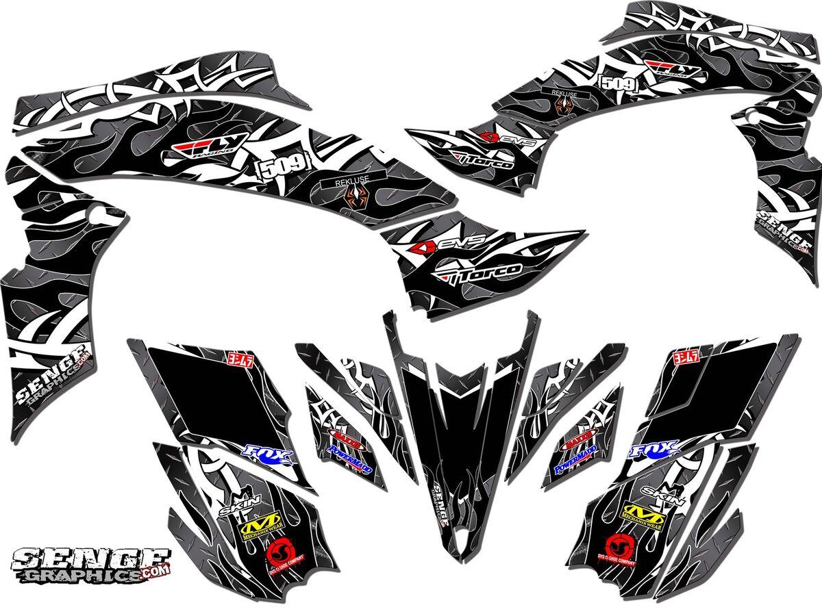 Ltr 450 Ltr450 Suzuki Graphics Kit Quad Stickers Decals 4