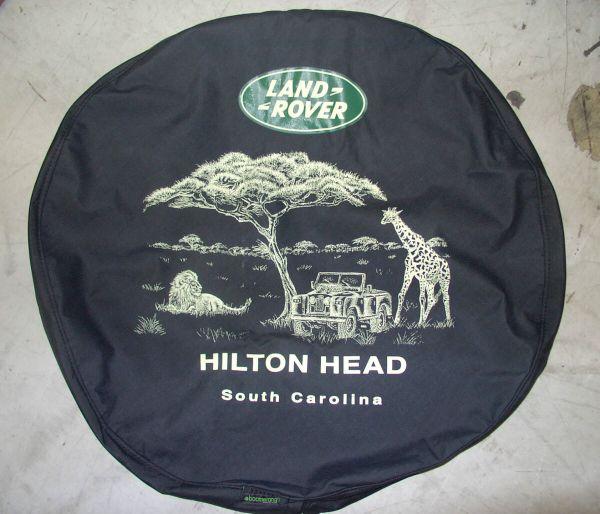 Land Rover Discovery Safari Spare Tire Cover 1995 2004 Hilton Head Popscreen