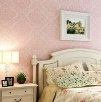 light pink wallpaper for bedrooms 2017 - Grasscloth Wallpaper
