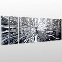 Modern Contemporary Abstract Metal Wall Sculpture Art Work ...