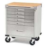 NEW 6-Drawer Rolling Metal Steel Tool Box Storage Cabinet ...