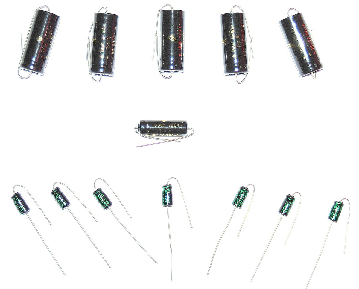 New F T Electrolytic Capacitor Set Fender Deluxe Reverb Or