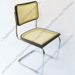 Marcel Breuer Chair Original Thomasville Dining Chairs Cesca Cane Side In Natural W Chrome