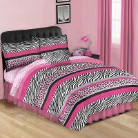 Best 28+ - Zebra Print Comforter Sets - hot pink black ...