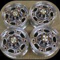 Of 4 chevy silverado 16 8 lug alloy wheels rims lug nuts 2500 duramax