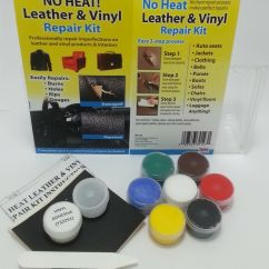 Leather Sofa Repair Kits For Rips Where To Buy A No Heat Liquid And Vinyl Kit Fix Burns