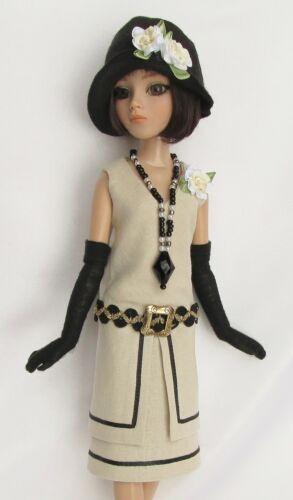 1920 reproduction linen dress lizette gloves