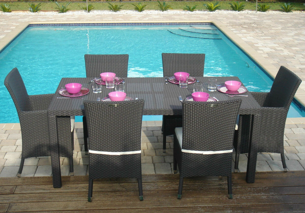 all weather wicker outdoor chairs for kitchen table rattan patio garden furniture