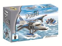 333pcs Police Water Plane Building Blocks (lego compatible