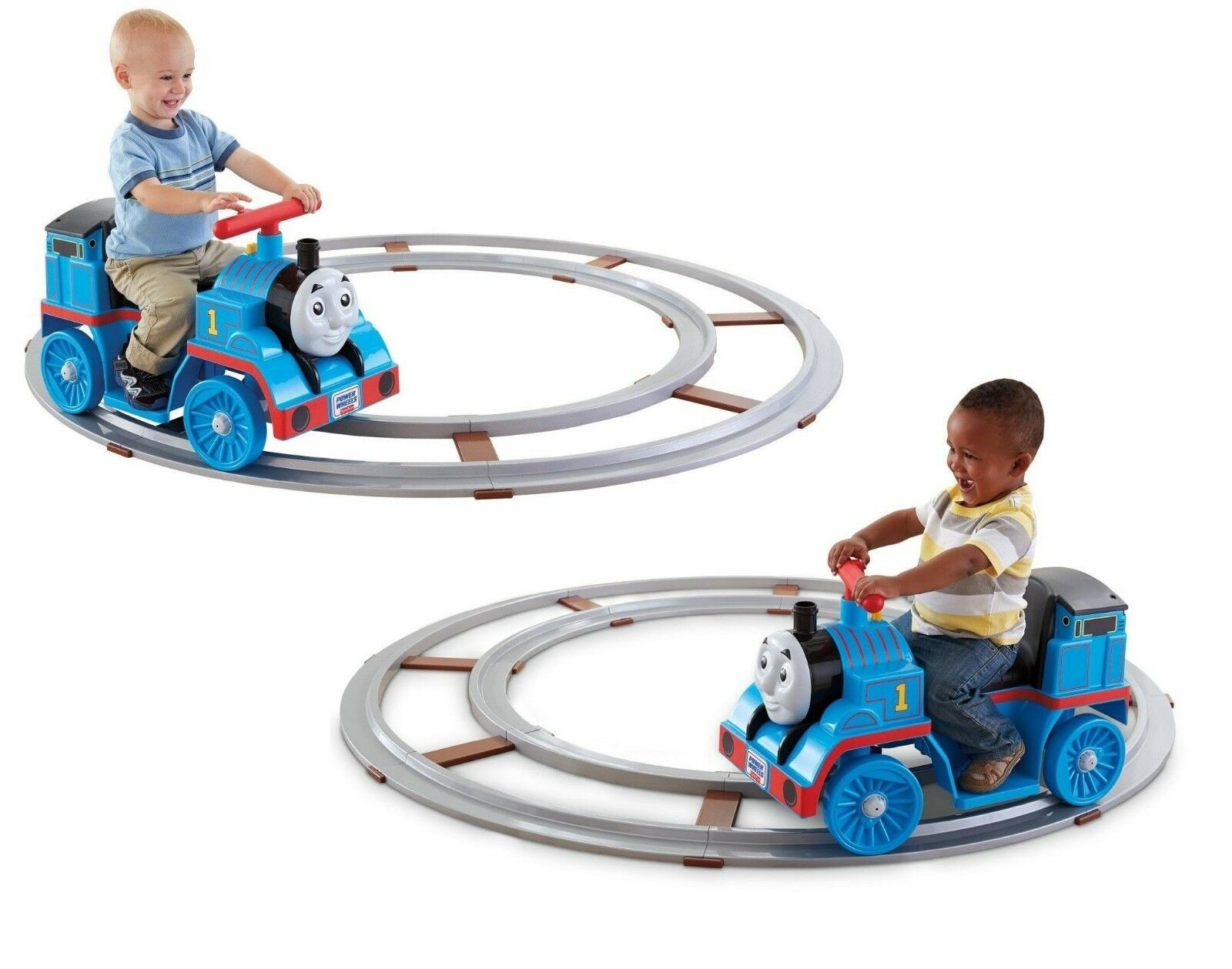 Fisher Price Kids Ride On Train Track Toddler Toy Push