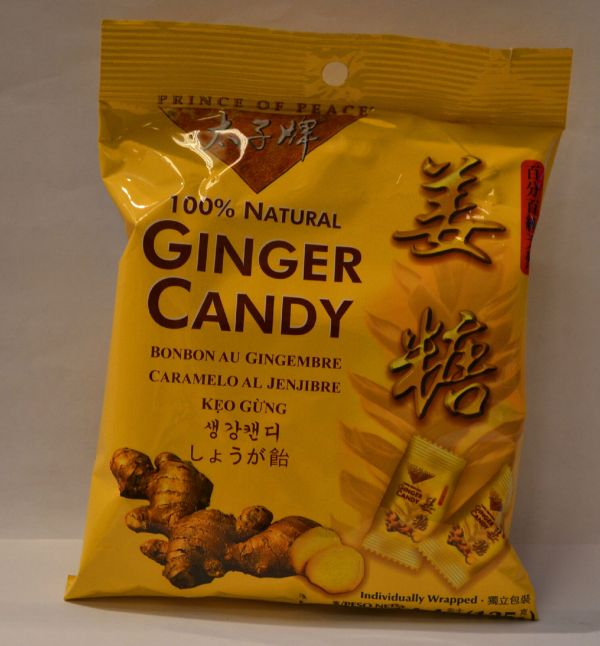 Prince Of Peace 100 Natural Ginger Chewy Candy - Usa