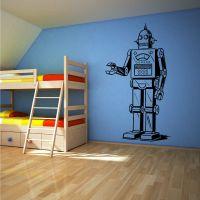 ROBOT Vinyl wall art sticker decal boys bedroom CHILDRENS
