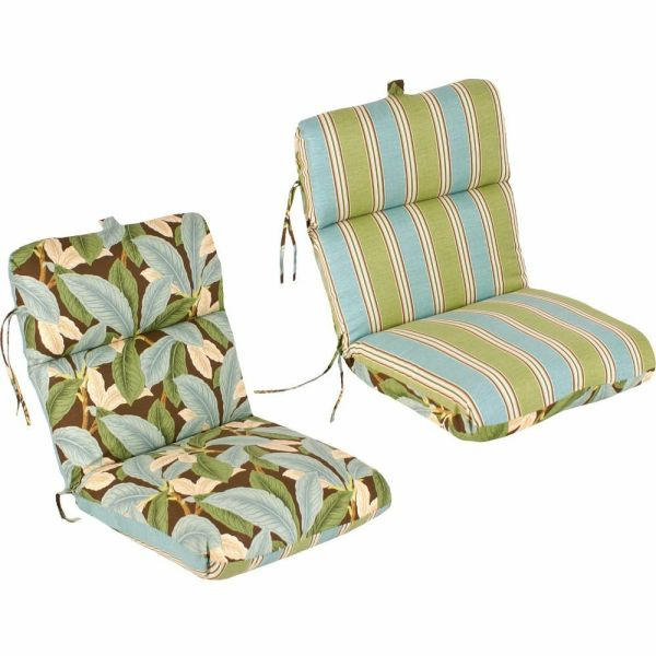 outdoor patio furniture replacement cushions Reversible Replacement Outdoor Patio Chair Cushion 100%