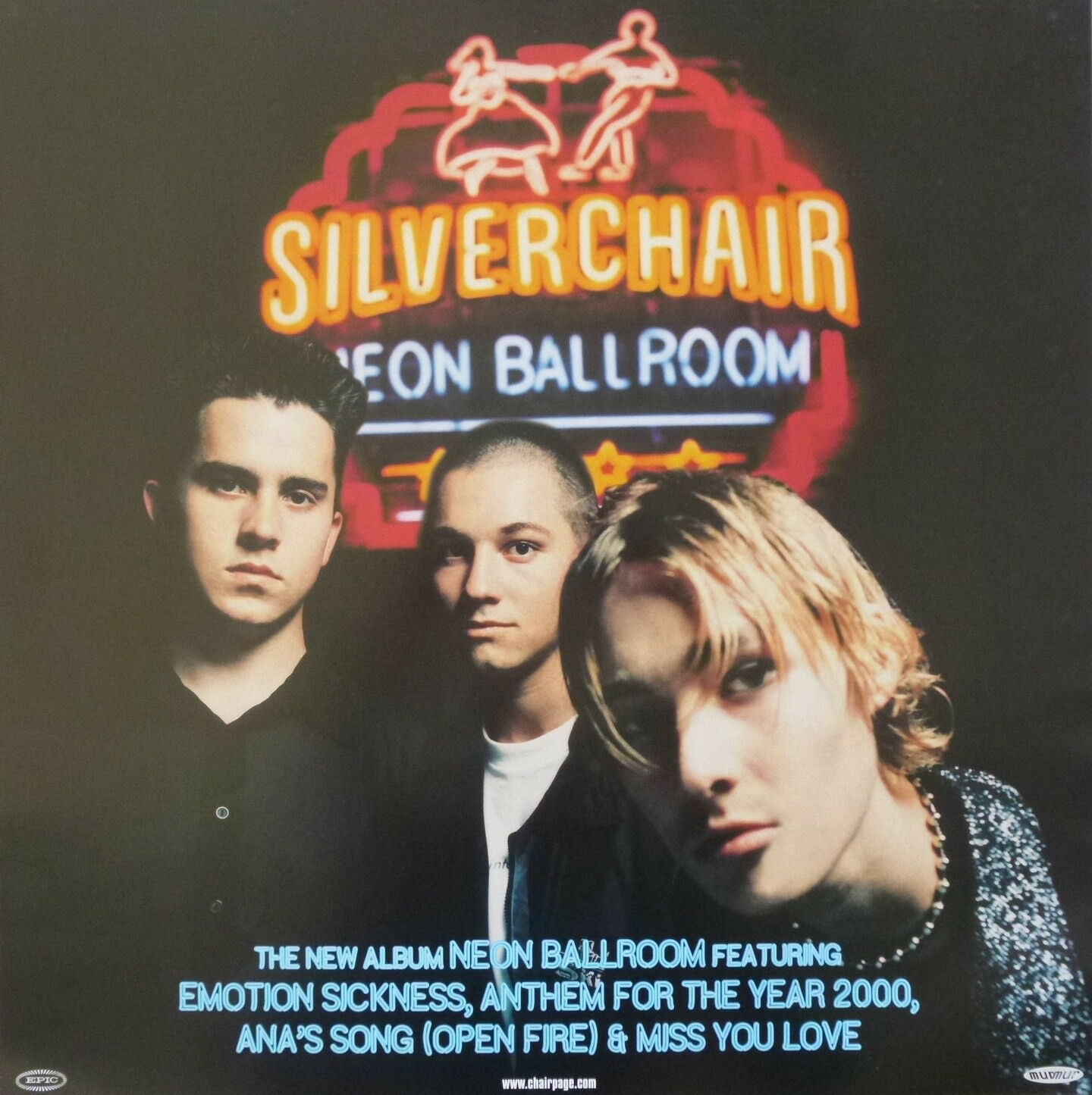 Silver Chair Silverchair Quotneon Ballroom Quot Australian Promo Poster Post
