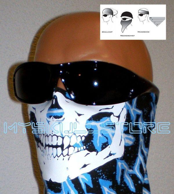 Adult Skull Face Mask Adjustable Close Cotton Dana