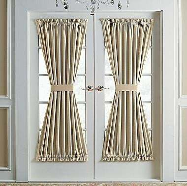"Solid Door Panel Panels Curtain Curtains 38"" 40 "" 45 "" 72"" In"