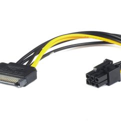 6 Pin Adapter Nissan Navara Wiring Diagram D22 Pci Express Stromkabel Sata Power F
