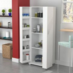 Kitchen Storage Cabinet Real Wood Cabinets Costco Tall Pantry For Bestsciaticatreatments