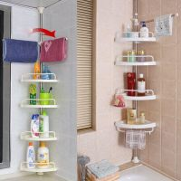 Corner Shower Caddy Shelf Organizer Bath Storage Bathroom ...
