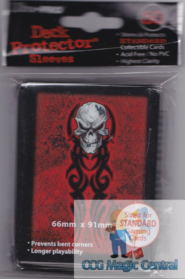 Ultra Pro Monte Tribal Skull Deck Protectors Card Sleeves