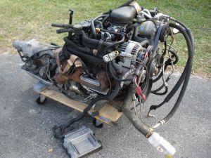 V6 43 VORTEC CHEVY S10 ENGINE TRANSMISSION BLAZER TRUCK