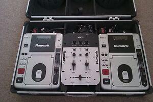 Numark Portable Cd Mixing Decks Players And Mixer In Dj