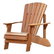 lifetime adirondack chair simulated wood patio furniture