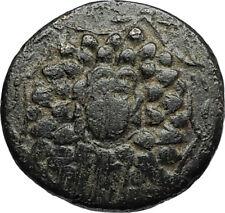 AMISOS in PONTUS 105BC Mithradates VI the Great GORGON NIKE Greek Coin i67733