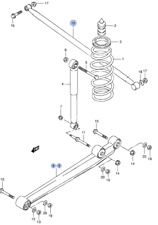 Car Suspension & Steering Parts for Suzuki Alto for sale